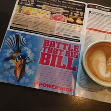 COFFEEUFEEL - #havanacoffee and #wellyonaplate guide - what a great start to the morning. Have you got yours yet?