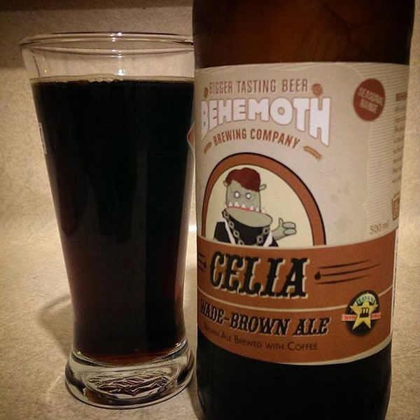 COFFEEUFEEL - Brown ale named after Celia Wade-Brown and brewed with Havana coffee - it doesn't get more Wellington than that! #coffeeyoufeel #havanacoffeeworks...
