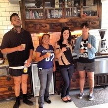 COFFEEUFEEL - That's a pass! Well that's what Amelia said, coffee training at #havanacoffeeworks...